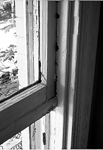 window painted shut