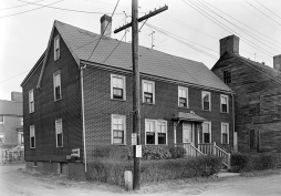 portsmouth nh-goodwin house-strawbery banke-charles street-1961