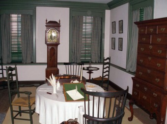 Declaration House Inside