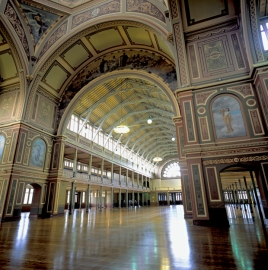 A supplied image obtained Tuesday, May 15, 2012 of Melbourne's Royal Exhibition building which was built between 1878 and 1880 . A $20 million federal government grant has been approved to restore the majestic world heritage structure on the edge of the Melbourne CBD. (AAP Image/Museum Victoria) NO ARCHIVING, EDITORIAL USE ONLY