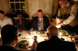 Old Salem hosts incoming president Frank Vagnone at the original Salem Tavern on Thursday, December 1, 2016.